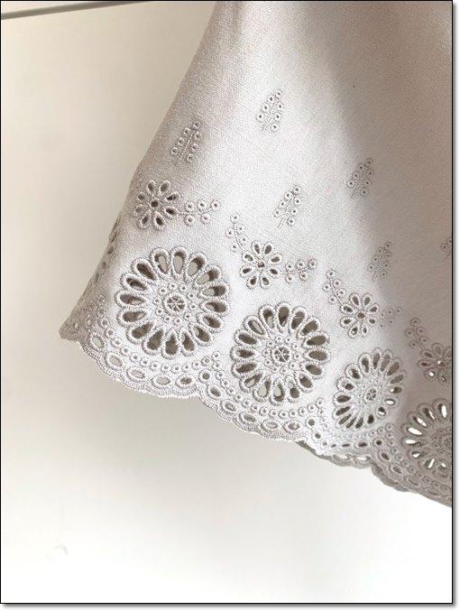 インナーワンピース 裾